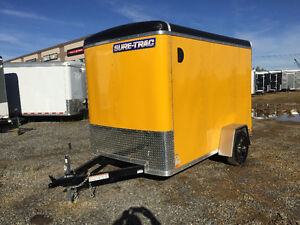 2015 SureTrac 6x10ft Enclosed Ramp/Yellow $5499