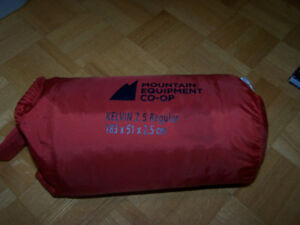 2- Mountain Equip Co-Op KELVIN 2.5 Regular SLEEPING PAD