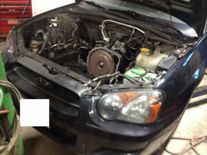 SUBARU ENGINE LOW km JDM IMPORTED under 50,000 km