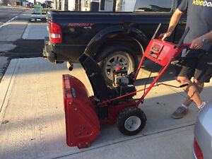 Snow King Snow Blower for Sale - Reduced
