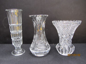 CRYSTAL VASES - SMALL - 3