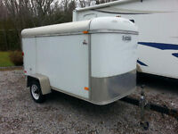 For Sale Closed Cargo Utility Trailer