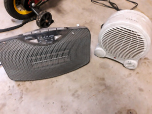 Space Heaters $20 for both