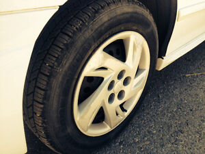 Hankook 195/65/15 tires and Chevy rims