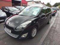 RENAULT GRAND SCENIC DIESEL 7 SEATER PRIVILEGE TOMTOM IN BLACK HALF LEATHER 2010