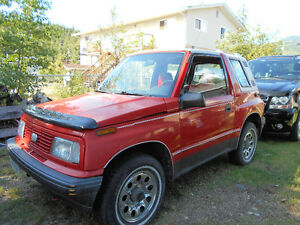 1992 Chevrolet Tracker Coupe (2 door)