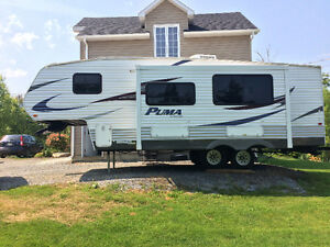 Fifth wheel Puma 2011 259RBSS