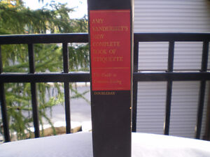 Amy Vanderbilts new complete book of etiquette 1963 Kitchener / Waterloo Kitchener Area image 1