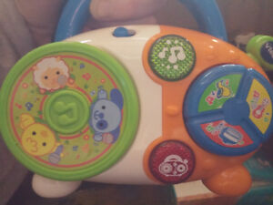 Vtech baby rock and roll radio.