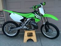 2006 KX250 2 STROKE REALLY LOW HOURS BARELY USED