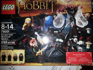 LEGO Lord of The Rings and Hobbit Escape from Mirkwood Spiders