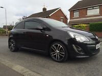 Vauxhall Corsa 1.4 turbo black edition performance upgrades limited edition May px swap