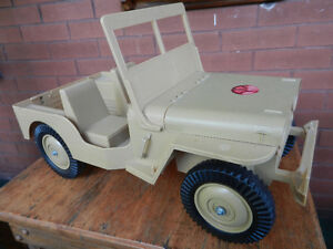 GI Joe Desert Patrol Jeep collection