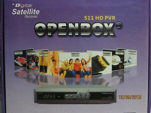Satellite Receiver -Openbox HD V11 FTA Box/PVR- S2, Qspk, 8psk,