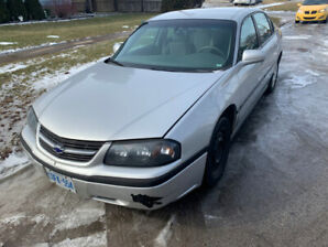 2004 Chevrolet Impala $2200 as is