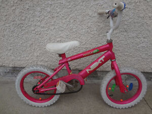 "$50 - Bike 12"". Training wheels included."
