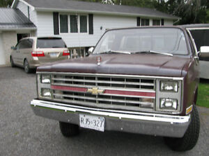 GONE PU--1987 GMC WRANGLER PICKUP FOR RESTORING-SOLD AS IS