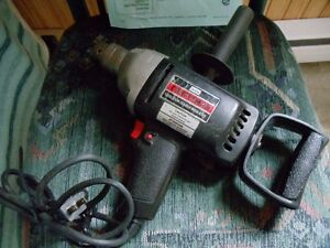 Craftsman,electric 1/2 in drive drill