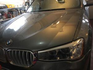 2017, BMW X3, 22,300 KM Excellent condition, Under Warranty