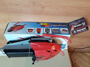 RC remote gas skidoo
