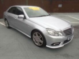 (10) 2010 Mercedes-Benz E350 3.0CDI Auto Sport Sat/Nav Service History