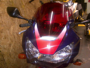 Honda CBR slip on zero gravity windshield
