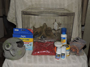 3 Gallon Fish Tank and Accessories