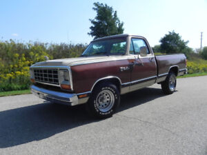 84 RAM Short box arizona mint truck low miles