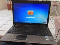 HP Elitebook 8540w core I i7 laptop