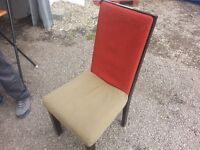 50 Fabric Dining chairs LOT SALE!ALL ONE MONEY!$25/chair!