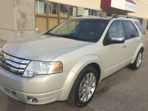 2008 Ford Taurus X Limited SUV, Crossover leather,sunroof