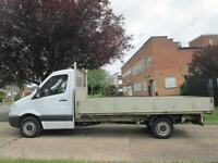 2013 13-REG Mercedes-Benz Sprinter 2.1TD 313CDI LWB DROPSIDE FLATBED ALLOY BODY