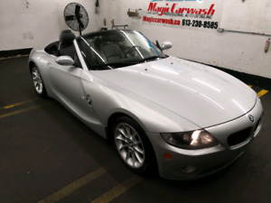 2005 BMW Z4 2.5i convertible, low mileage, well cared for