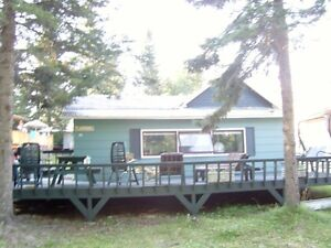 WASKETEENA BEACH CANDLE LAKE Cabin For Rent