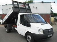 2013 FORD TRANSIT SINGLE CAB ONE STOP TIPPER, EURO 5, 68K MILES, BEST IN THE UK!