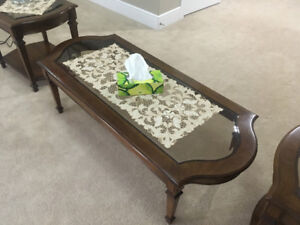 1-Coffee Table & 2-Matching End Tables - $225 *REDUCED*