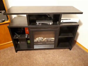 TV STAND/FIREPLACE