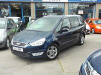 13 FORD GALAXY DIESEL AUTO 2.0 ZETEC 7 SEATS A/C CLIMATE ALLOYS F+R SENSORS