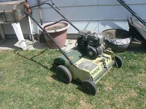 power lawn rake