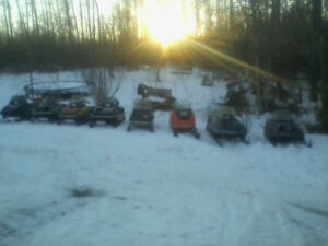 OLD SLEDS THAT RUN GREAT.$800-1850.CALL.780.240-9380