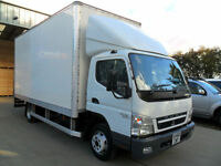 MITSUBISHI FUSO CANTER 5.0 7C15 145PS BOX VAN WITH TAILLIFT WHITE DIESEL 60REG