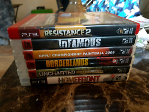 Ps3 games all for 20