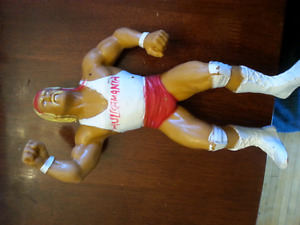 WWF rubber wrestlers  titansports 1986-1988