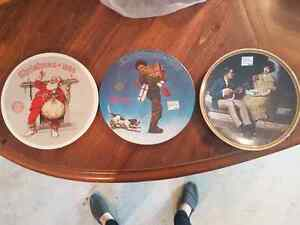 Norman Rockwell Collector plates  Moose Jaw Regina Area image 1