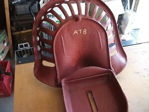 Antique Cast Iron Tractor Seat with built in tool box Belleville Belleville Area image 6