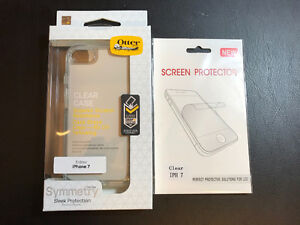 iPhone 7 Otterbox Clear Case with Screen Protector