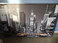 140x100 Time Square print