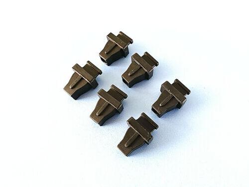 100x Anti Dust Plugs Stopper Cover Caps for SC Single Fiber