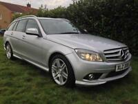 2008 Mercedes-Benz C220 CDI Sport Auto Estate SAT NAV FULL LEATHER FULL HISTORY