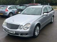 2007 Mercedes-Benz E-CLASS 2.1 E220 CDI ELEGANCE 5d 168 BHP Estate Diesel Automa